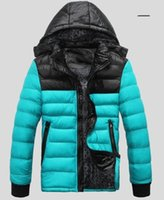 Men Short Solid HOT SALE 2015 Winter men's clothes down jacket coat,men's outdoors sports thick warm parka coats jackets man Down Parkas #865