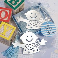 baptism gifts - DHL Freeshipping baby boy Bookmark baby shower party baptism wedding favors gift
