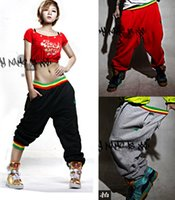 Wholesale Stage wind casual couple pants hip hop cotton sport pants