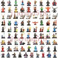Wholesale 500pcs Mini Building Blocks figures For Individually Single Sale Marvel Super Heroes star war avengers Batman Bricks Toys