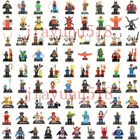 Wholesale 500pcs Minifigure For Individually Single Sale star war Marvel Super Heroes Avengers Batman Building Blocks Model Bricks Toys