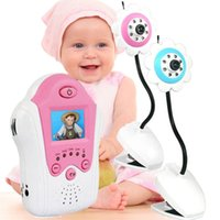 Wholesale DHL inch GHz Analog video voice Wireless Baby monitor with flower camera