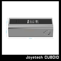 Wholesale Newest Original Joyetech Cuboid W TC mod supporting SS316 coils and customized TCR function Joyetech Cuboid VS Smok Treebox mod