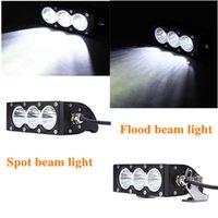 high intensity led - Free DHL Led light bar W lumen high intensity US CREE LEDS LED Spot Flood Light Bar for wd Offroad Truck and Boat