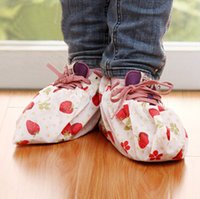 Wholesale 1 Pair Non woven Fabric Shoe Covers Repeated Washing Cloth Shoes Sleeve