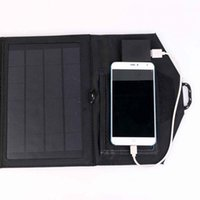 Wholesale Portable W Travel Solar Panel USB Charger Pack for Phone Tablet PC Laptop Charging Board order lt no track