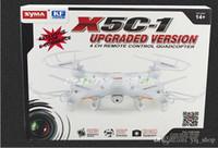 2015 NOUVEAU RC Drone SYMA x5C-1 2.4G 4CH 6-Axis helicopter télécommande RC Quadcopter Toys Drone AR.Drone Avec Caméra HD Carte SD 2Go