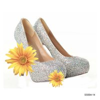 Cheap Wedding Wedding Shoes Best High Heel Almond Shaped Toe Party Shose