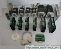 Wholesale 6 axis CNC controller kit oz in and oz in torque Wnatai stepper motors A VDC Microstep