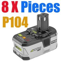 Wholesale 8 packs Ryobi V Lithium Battery Ryobi V Li ion Battery Ah ONE Tested Good order lt no track