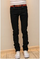 Wholesale 2014 fall autumn fashion New men jeans Men s Slim fit Elastic Jeans candy Color skinny jeans men s Straight denim trouser