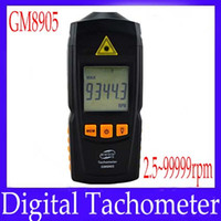 Wholesale Digital tachometer GM8905 measure range rpm