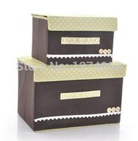 bamboo quilt cover - 2014 set Coffee Fashion Women Spend Tuba Trumpet Covered Underwear Clothes Quilts Storage Box Cosmetic Bag New