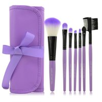 Wholesale 7 kits Makeup Brushes Professional Set Cosmetics Brand Colors Makeup Brush Tools Foundation Brush For Face Make Up Beauty Essentials