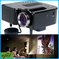 mini led video projector - UC28 lm P Mini Portable Home Theater Cinema Proyector LED Digital Video Game Projectors Multimedia Player Inputs VGA USB SD AV HDMI