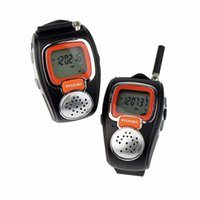 walk talkie - 1 pair Digital Wrist Walkie Talkie Watch Amateur Two Way Portable Radio Sets MHz Comunicator Amador Walk Talk PTT Taki PMR freetalker
