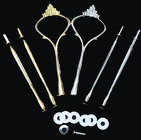 Wholesale 20mm long thread Cake Stand Handles Cake Stand Fittings Tier crown VERY HEAVY and STRONG