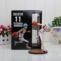 Multicolor basketball action figures - Hot sale Cool quot Kuroko s Basketball Tetsuya Kuroko PVC Action Figure Collection Model Toy boxed