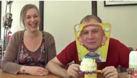 Article de mode Jouets Pie visage Enfants Nouveauté jouets intérêt de paternité pour parent et enfants en famille par DHL