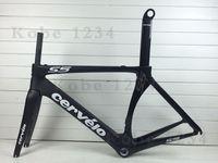 cervelo - 2016 New Cervelo S5 black carbon road bike frames matte road bike carbon frame bicycle frameset