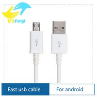 Wholesale 2A Micro USB Cable Cabo M Data Sync Charger Cables Fast Charge for Samsung Android for Sony Xiaomi HTC mobile cell phone