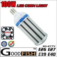 bay oil - 13000LM W LED Corn Light E26 E27 E39 E40 Oil station lights High Bay light Industrial Lamp Street Warehouse lighting w corn bulb