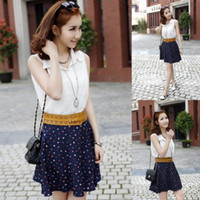 Wholesale Retro PU Hollow Out Belt Sexy Women Lady Flower Waistband Colors Choose DOF