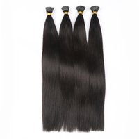 Wholesale 1g strand strands Pack Color B Peruvian Remy Italian Kertain I Tip Hair Extension Cold Fusion Hair Extension