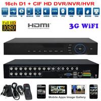 al por mayor sistema de cctv 16-4ch 8 canales 16 canales AHD DVR red 1080p 960 h detección de movimiento de audio de alarma NVR DVR CCTV vigilancia sistema de seguridad grabadora de vídeo digital