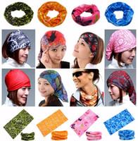 multifunctional headwear - Turban Multifunctional Magic Headband Headwear neck bandana multi scarf tube mask cap Outdoor Sports