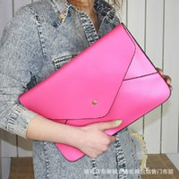 Wholesale New Korean version of the large envelope clutch bag Messenger bag retro handbags wild file mini handbags