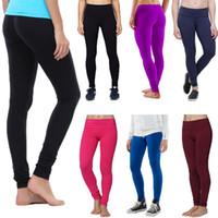 Wholesale Women Leggings New Summer Fitness Female Full Pants Skinny Gym Lggings perneiras Sport Colourful stretchy leggins