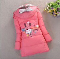 Wholesale The New Children Down Jacket Medium long Thickening Down Jacket Of The Girls cm CM k1239