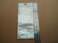 act packs - 9 cm Clear white zipper lock retail plastic package bag poly bag Act the role ofing is tasted tools packing bag