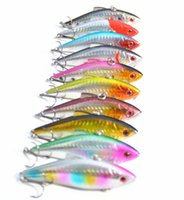 Wholesale 8 CM G VIB fishing lure fishing bait minnow bass lure fishing tackle isca artificial wobbler crankbait