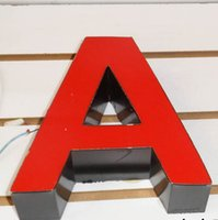 Wholesale LED face lit signs LED lettering signs channel letters business signs