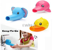 Wholesale Hot Selling Cartoon Kids Sink Faucet Extender Children Toddler Handwashing Dolphin Duck Elephant New and