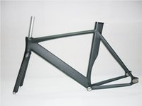 Wholesale 2014 Top Quality CM Smooth Welding Track Bike Fixed Gear Bicycle Frame with Carbon Fork C