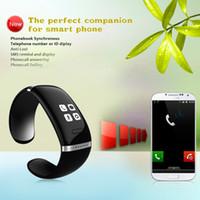 оптовых l12s запястье-Смарт-браслет L12S OLED Bluetooth браслет наручные часы дизайн для IOS iPhone Samsung телефонов Android носимого Электронные
