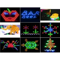 Wholesale 100pcs LED Light DIY for Indoor Ortdoor Decoration Wedding Christmas Party Holiday Bar Party Furniture Decoration Light Mutil Colors