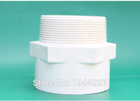 pvc pipe flange - High quality mm slip Inch Male Iron Pipe Thread PVC Pipe Adapter Slip Pipe Thread PVC Fittings