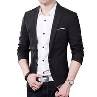 Wholesale Men Blazer Casaco Terno Masculino Suit Cardigan Jaqueta Wedding Suits Blue Size S XXXL