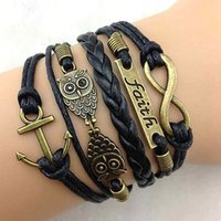 14k gold rope chain - The birds the rudder infinity multilayer bracelet Hand woven bracelet a weight g women s jewelry