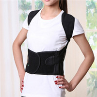 Wholesale 1 High Quality Unisex Back Shoulder Posture Corrector Support Straighten Brace Belt Orthopaedic Adjustable Health Care