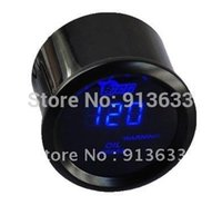 Wholesale In stock quot mm UNIVERSAL DIGITAL BLUE LED RED WARNING LIGHT OIL PRESSURE PRESS GAUGE