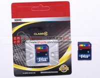 Wholesale 64 GB Card Class Micro SDHC Memory SD Card For Digital Cameras Camcorders Drive Recorder Flash Memory SD Card High Speed MB S