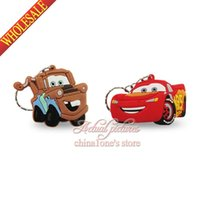 Cheap 2pcs Cars 2D Keychains Key Ring For Bags wallet Clothing or others with zipper,Birthday Party Gift Key Accessories,Free Shipping