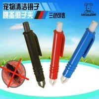 Wholesale Flea clip colors Tick Twister Remover Hook Tool Human Dog Horse Cat Comb dhl fedex Shipping