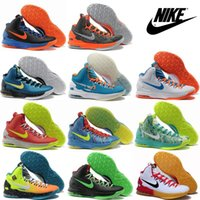Wholesale Nike KD V Men Basketball Shoes High Cut Sneakers Hot Sale Authentic Sports Shoes Leather High Quality Cheap Trainers