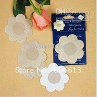 Wholesale Instant Nipple cover nonwaven disposable nipple pad pairs design mixed